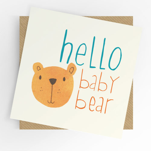 Hello baby bear