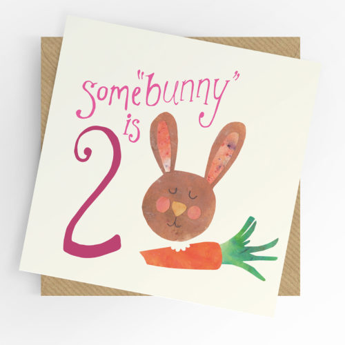 Some'bunny' is 2